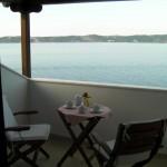Private veranda at the Attic